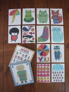 Postkartenbox mit 30 Karten - Sukie