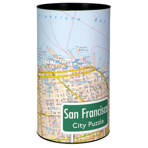 City Puzzle - San Francisco - Extragoods