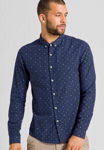 Flanell Hemd aus Bio-Baumwolle Marius Squares - ARMEDANGELS