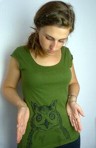 Owli Eule Sheer Jersey Top - ilovemixtapes