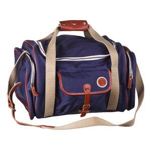 Large Duffle Bag - Blaue Tasche - KnowledgeCotton Apparel
