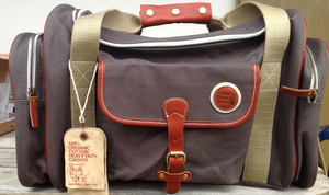 Large Duffle Bag - Graue Tasche - KnowledgeCotton Apparel