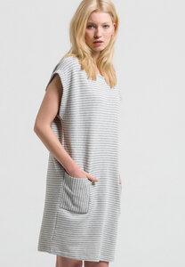 Sweatkleid aus Bio-Baumwolle Mareike Stripes - ARMEDANGELS