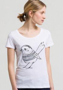 Print T-Shirt aus Bio-Baumwolle Mari Bird - ARMEDANGELS