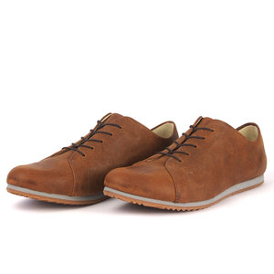 '83 Leder Sneaker in Braun - SORBAS