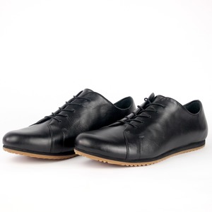 '83 Leder Sneaker in Schwarz - SORBAS
