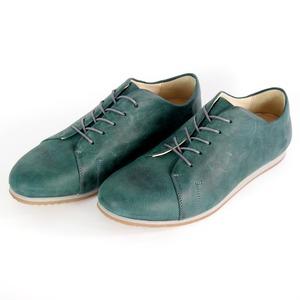 '83 Leder Sneaker in Green / Grey - SORBAS