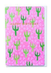 Geburtstagskarte Kaktus - 1973