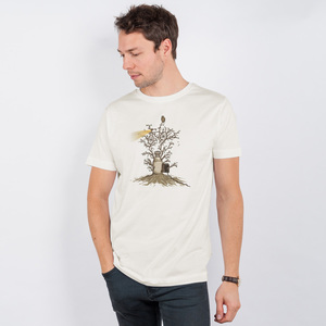 Robert Richter – Natural Light - Mens Low Carbon Organic Cotton T - Nikkifaktur