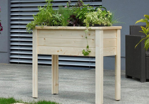 Kräuterhochbeet 'Herb' - für Balkon und Terrasse - 4betterdays