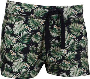 OGNX Yoga Short Hawaii Damen Grün - OGNX