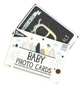 LIMITED EDITION - OVER THE MOON - ORIGINAL BABY CARDS VON MILESTONE - Milestone