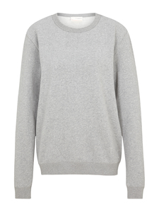 Sweatpullover-Grey Melange - KnowledgeCotton Apparel