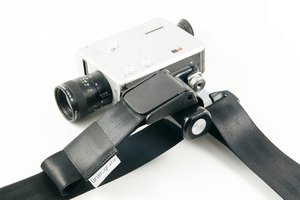 Kameragurt der 'Verstellbare' aus Autogurt mit innovativem Tragesystem - Grünografie