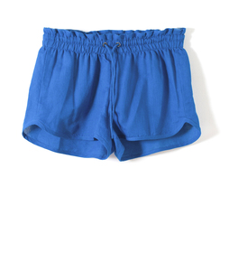 Short Plain Snorkel Blue - thinking mu