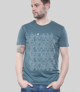 Shirt Men Denim 'ASCII' - SILBERFISCHER