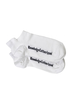 Footies - Bamboo Sock 2er Pack Star White - KnowledgeCotton Apparel