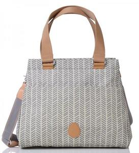 Wickeltasche PACAPOD RICHMOND - DOVE HERRINGBONE - PacaPod