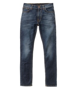 Lean Dean Dark Worn Navy - Nudie Jeans
