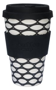 Ecoffee Cup Bambuskaffeebecher  400 ml Basketcase - Unipolar