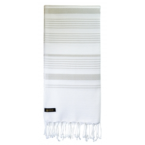 Fouta / Hammamtuch aus Biobaumwolle / Sand Collection - Karawan authentic
