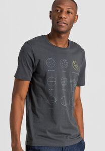Print T-Shirt aus Bio-Baumwolle James Nine Planets - ARMEDANGELS