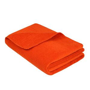 Kinder-Kuscheldecke KARLSSON 100x150cm 100% Baumwolle (kbA) Orange - NATUREHOME