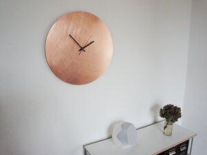 Raw Copper Wanduhr - 45 cm - Calvill