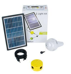 Solar-LED-Leuchtsysteme mit Ulitium 200 LED Lampen - Sundaya