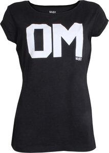 OGNX Yoga T-Shirt Oversized OM Damen Schwarz - OGNX