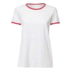 ThokkThokk Damen Ringer T-Shirt - ThokkThokk ST
