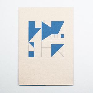 Geometrisch Blau - Kleinwaren / von Laufenberg