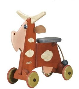 Rutschtier aus Holz Funny wunderschön lackiert toll für die Kleinen - Janoschik