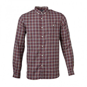 Small Checked Flannel Shirt - KnowledgeCotton Apparel