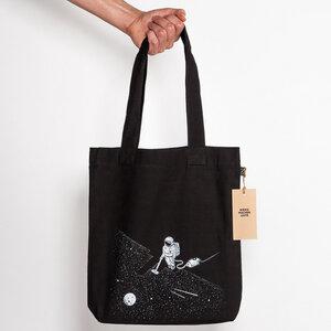 Robert Richter – Space Cleaner - Organic Cotton Tote-Bag - Nikkifaktur