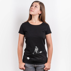 Robert Richter – Space Cleaner - Ladies Organic Cotton T-Shirt - Nikkifaktur