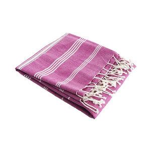 Hamam Baumwolltuch pink - Karawan authentic