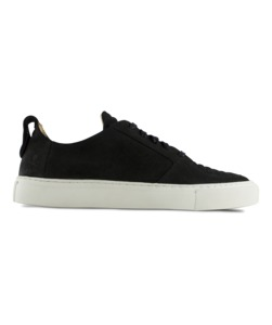Argan Low / black suede - ekn footwear