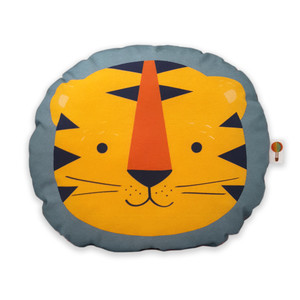 Kleines Kissen Tiger aus Bio-Baumwolle - TELL ME