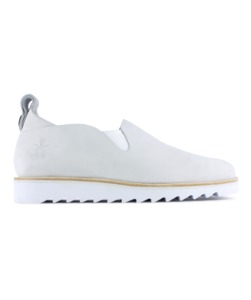 Kudzu / white leather ripple - ekn footwear