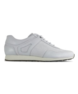 Low Seed Runner / white leather - ekn footwear