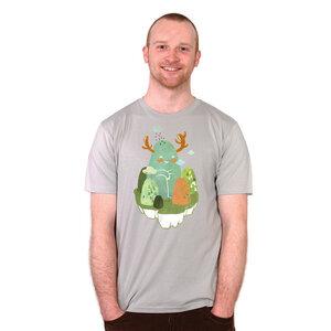 Hide and Seek - Shirt Männer mit Print - Coromandel