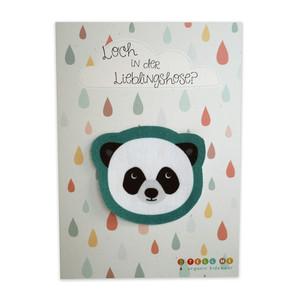 Aufnäher Panda aus Bio-Baumwolle - TELL ME
