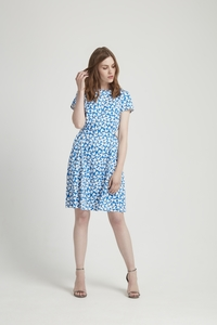 Danielle Dress Blue - People Tree