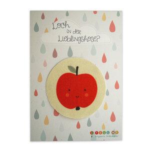 Aufnäher Apfel aus Bio-Baumwolle - TELL ME