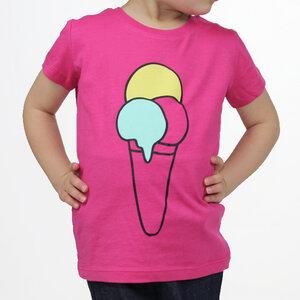 """T-Shirt """"ice cream"""" - himbeere - Carlique"""