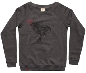 "Bidges&Sons ""Soaring Bird"" Ladies Sweater Lowcut  - Bidges&Sons"