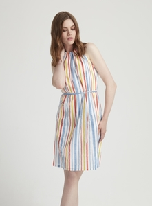 Bryony Stripe Dress - People Tree
