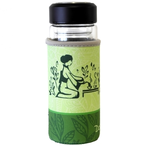 Tea To Go Becher Glas 300ml - Dora