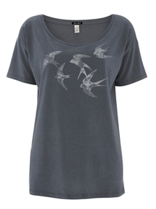 Swallows Sky - Fresh - T-Shirt - GreenBomb